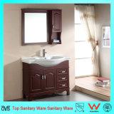 Vanidad sanitaria moderna Floor-Mounted del cuarto de baño de las mercancías de madera de roble