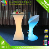 Wedding 번쩍이는 LED 테이블, 접수처, LED는 테이블을 조명했다