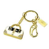 Bolso de mão de luxo de cristal USB Flash Drive Jóias USB Stick