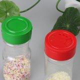 frasco plástico do abanador da especiaria do animal de estimação 100ml com tampão da aleta (PPC-PSB-03)