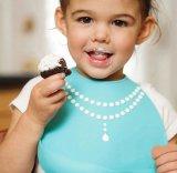 幼児挿入の胸当ての赤ん坊のシリコーンの胸当て1-3年適合