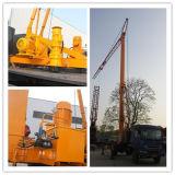 Bewegungsfaltbarer mobiler Turmkran der Hebevorrichtung-18.5kw