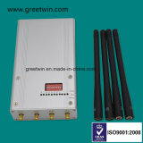 8 Stoorzender van het Signaal van de Telefoon van de Band van de frequentie de Draagbare Mobiele met 4 Antennes (GW-JN8DGN)