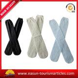 Peúgas 100% brancas da linha aérea do algodão para o uso descartável