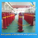 Cylindre hydraulique à plusieurs étages/télescopique à simple effet pour l'entraîneur