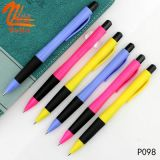 Bolígrafo plástico del precio del regalo más barato al por mayor de la promoción