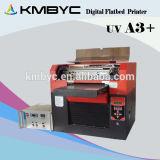 Impresora UV precio, superficie plana A3 impresora UV para la caja del teléfono del / de la pluma / pelota de golf / Tarjeta / CD