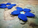 NiederfrequenzEm4200 Keyfob RFID Identifikation-Marke ABS Schlüsselkarte Keychain für Zugriffssteuerung