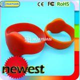 Wristband clássico da ginástica 1K RFID da impressão MIFARE do logotipo