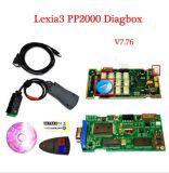 Lexia3 диагностический инструмент PP2000 для Citroen для Peugeot с блоком развертки Diagbox