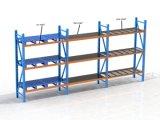 Racking de aço resistente do armazenamento do armazém para a pálete