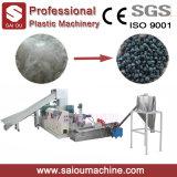 100-500kg/Hour PP PE 물 반지 플라스틱 과립은 기계를 재생한다