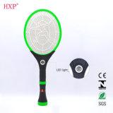 Swatter vendedor caliente recargable del mosquito con la linterna del LED