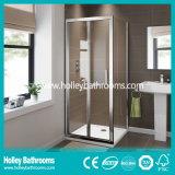 Pièce jointe se pliante de vente chaude de douche avec le verre feuilleté Tempered (SE921C)