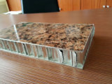 PET überzogene Steinfarben-Aluminiumbienenwabe täfelt Wand-Umhüllung