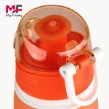 Weiche Silcione faltbare Traval Wasser-Flasche 550 ml-für Kinder