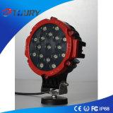 7 '' Epistar Spot / Flood Luz de trabajo LED 51W LED lámpara de trabajo