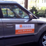 De waterdichte Sticker van de Magneet van de Auto van de Douane van de Hoge Resolutie Professionele