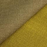 Couro impermeável do plutônio da imitação da tela do falso para o sofá da mobília de Upholstery