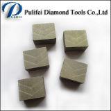 El segmento mojado del disco del corte del diamante para el granito consideró