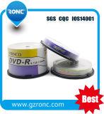 DVD-R 120min 4.7GB Roncのブランド50PCSの収縮の覆いのブランクディスク