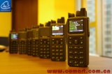Radio tenuta in mano bassa militare con la singola funzione del ripetitore di Chanel, radio portatile di VHF del ripetitore