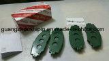 トヨタ(04465-02220)のための自動陶磁器ブレーキパッド