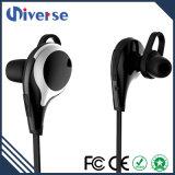 Meilleur sans fil d'écouteurs intelligents de Bluetooth de réduction du bruit au-dessus des écouteurs bleus de dent d'oreille