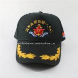 Kundenspezifische gute Qualitätsaufgetragene Baumwollmarine-Armee-Baseballmütze