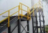 ガラス繊維の梯子及び手すりのFiberlgass階段踏面、FRPの手すりシステム