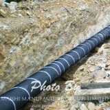 Capas de la tubería del acoplamiento del HDPE