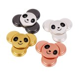 Tri-Spinner Unruhe-Spielwaren-Panda-Handspinner-Metallunruhe-Spinner