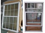 finestra di scivolamento verticale del PVC della plastica