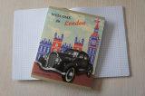 Großhandelsschule-Briefpapier-preiswertes Massenschreibens-Auflage-Kursteilnehmer-Notizbuch