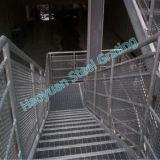 Différentes applications des séries discordantes en acier sept de semelle d'escalier