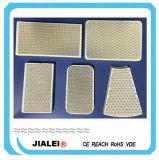 Placa de cerámica infrarroja del panal de la cordierita por encargo y plaga catalítica del panel de la calefacción de gas