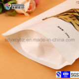 de papel 200g laminada se levantan el bolso Ziplock del empaquetado plástico para las frutas secadas