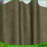 Poliester tejido tela hermosa de la cortina del uso del hotel que cubre la tela impermeable de la cortina del franco