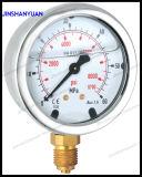 Og-009 Wikaのタイプ圧力計かオイルの圧力計