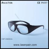 защитные стекла 9000-11000nm Di Lb3/лазера для предохранения от лазера СО2 с Frame33