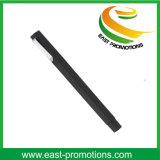 Preiswerter quadratischer Plastikkugelschreiber mit Marken-Firmenzeichen