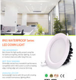 Substituant 75W l'halogène Downlight IP65 DEL enfoncée par 15W Downlight