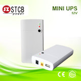 Saída portátil Eco DC 12V Mini UPS Power Bank