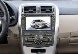 Navegação capacitiva do carro da tela de toque do RUÍDO do núcleo 2 do quadrilátero com o Bt/iPod/3G/Vmcd/FM/Am para o Corolla 2011