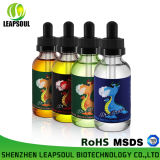 RoHS/TUV/MSDS 30ml Glasflaschen-Minze blüht Zigaretten-flüssigen elektronischen Saft