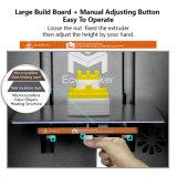 impresión 3D para el prototipo rápido, con dos pistas