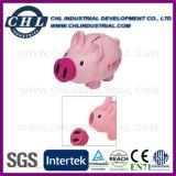 La Banca Piggy del vinile variopinto di prezzi bassi con la serratura inferiore