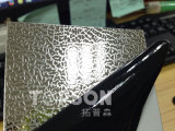 chapa de aço inoxidável de produto 201 304 316 de aço com gravado colorido para a decoração