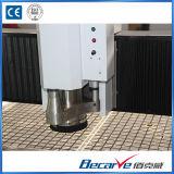 router de refrigeração água do CNC da máquina de gravura da plataforma da adsorção do eixo 5.5kw/vácuo