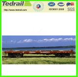 Vagão liso Railway; Vagão liso do frete; Vagão para a venda, plano usado